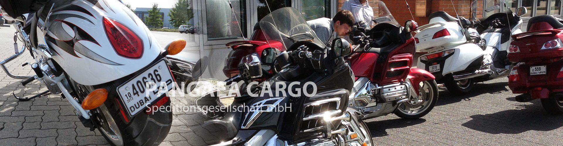 Dubai-Motorrad-Transport